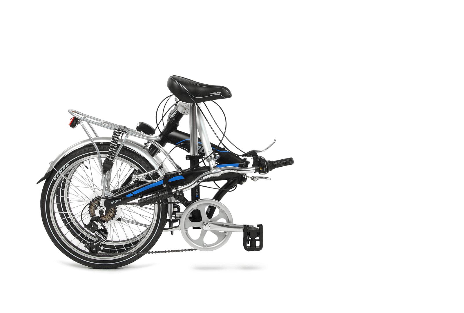 folding-bike folded