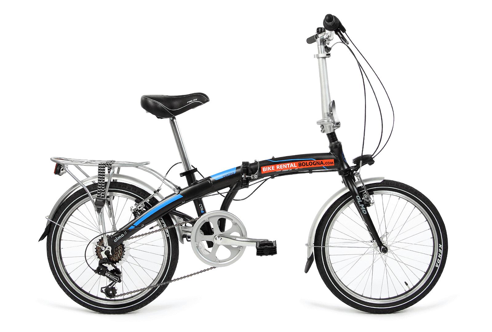 folding-bike opened