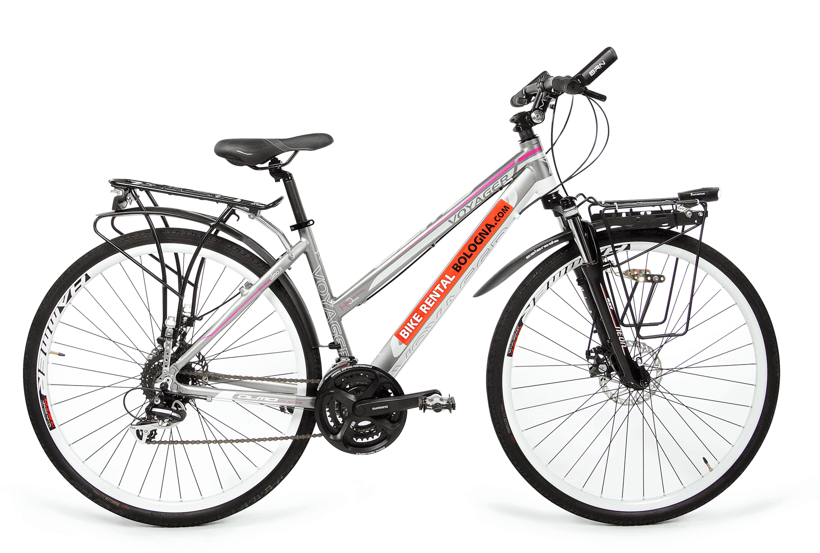 female touring-bike