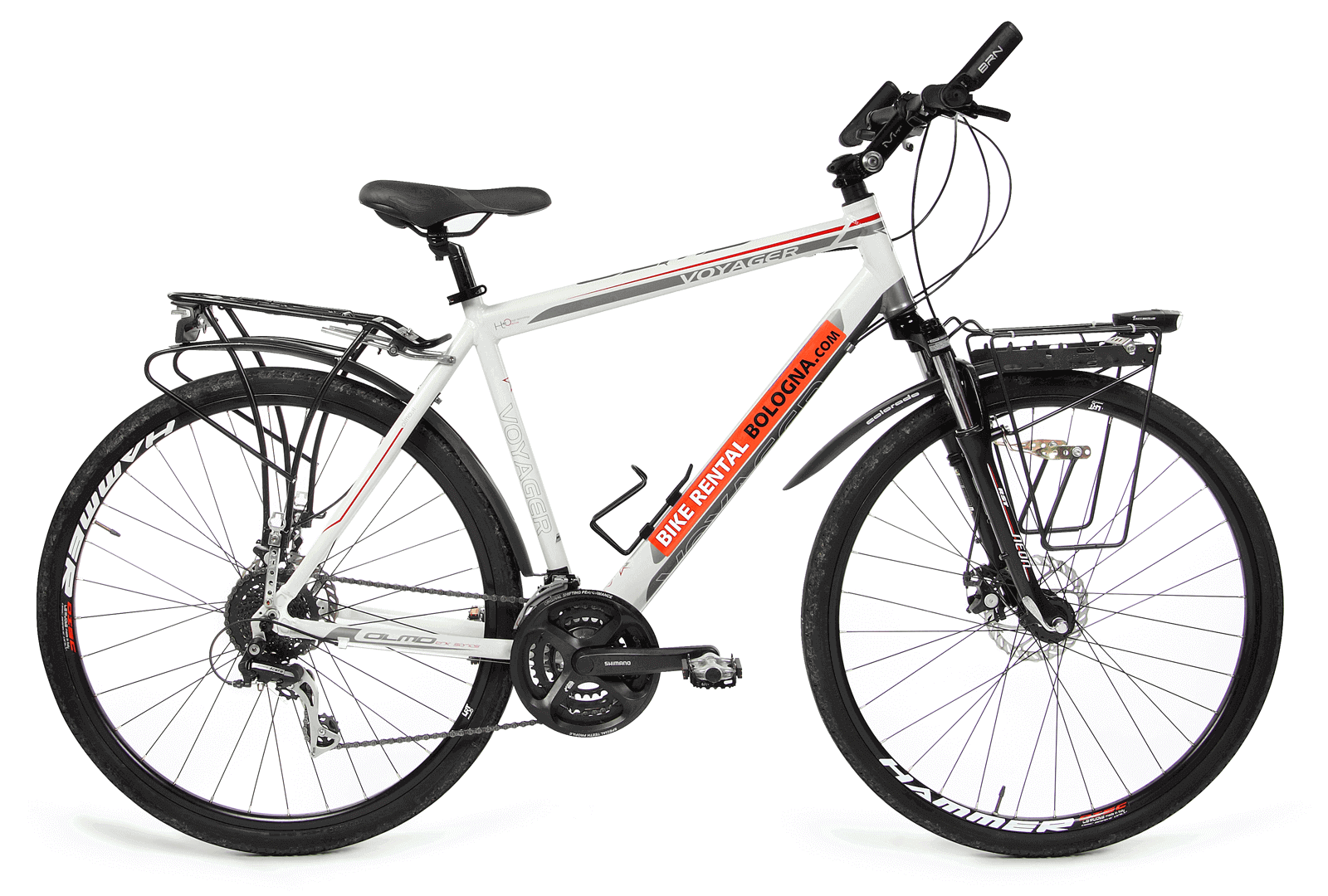 male touring-bike