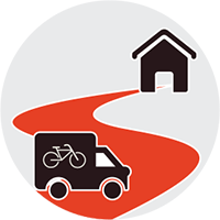 with 'Relax renting' we deliver and collect your bicycles everywhere in the province of Bologna.